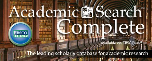 """Academic Search Complete"", EBSCO Publishing"